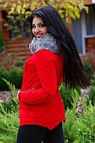 Д072 Куртка-парка теплая, фото 3