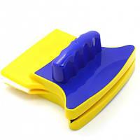 Магнитная щетка для мытья окон Double Faced Glass Cleaner