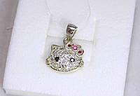 Подвес Hello Kitty серебро 925 проба АРТ3219, фото 1