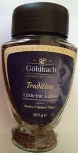 Кофе растворимый Goldbach Tradition ,  200 гр, фото 2