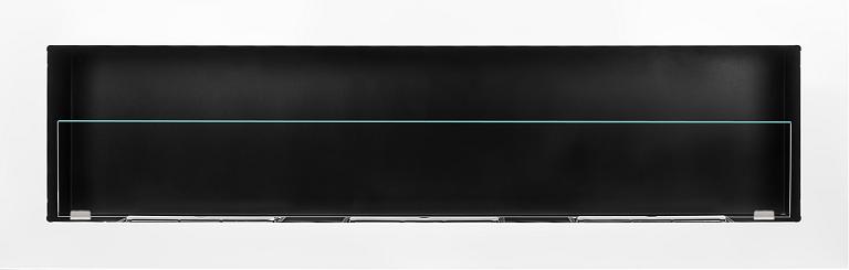 Биокамин  ARCHIKART, 1400х400 мм с защитным стеклом, белый, фото 2