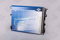 Радиатор охлаждения Dacia Logan 1.4,1.6 2004-2008 (с кондиционером) (77 00 428 082)