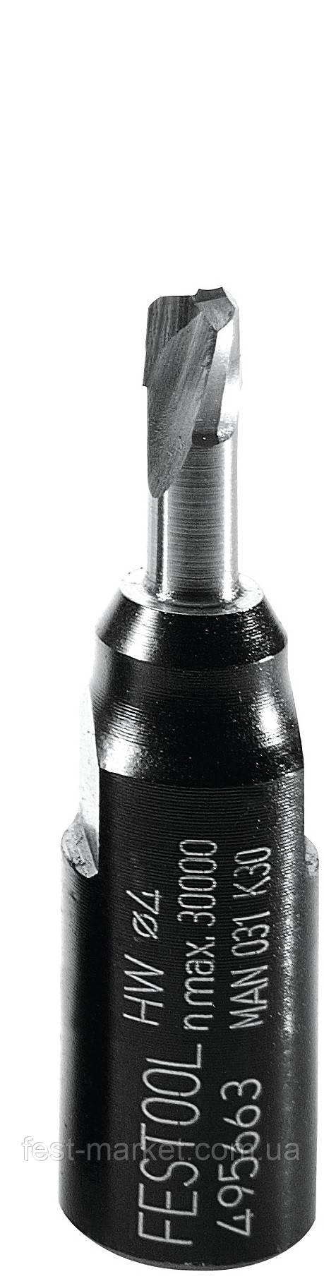 Фреза для фрезера DF 500 Festool Domino, D 4, оригинальная Festool 495663