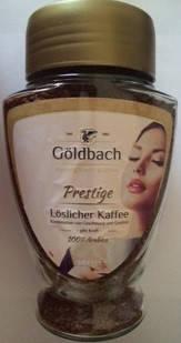 Кофе растворимый Goldbach Prestige в банке ,   200 гр, фото 2