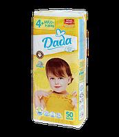 Подгузники Dada Extra soft 4+ MAXI+ / 50 шт. / 9-20 кг, фото 1