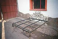 Кованая кровать в Полтаве