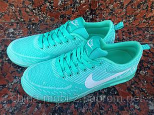 Женские кроссовки Nike Air Max (Мятные), фото 2