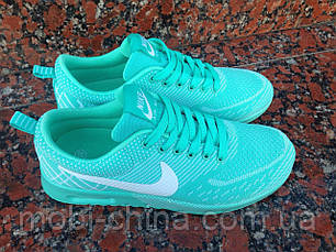 Женские кроссовки Nike Air Max (Мятные), фото 3