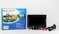 """Автомобильный дисплей LCD 4.3"""" с возможностью подключения двух камер"""