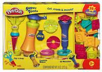 Набор пластилина Play Doh Супер инструменты + формочки цифры и буквы 23495