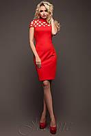 Платье Молли красный