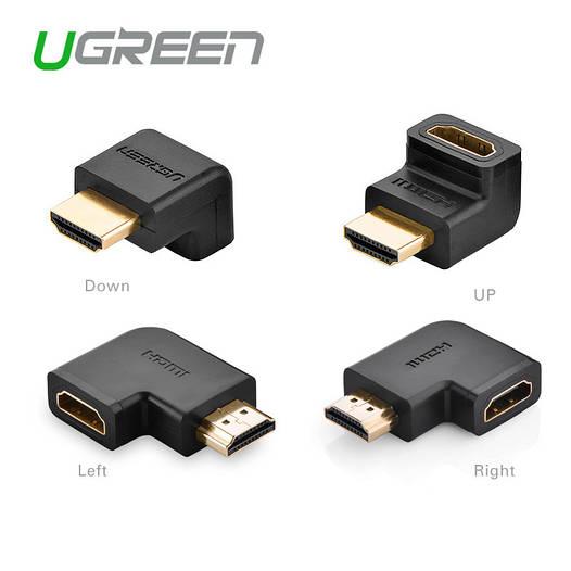 Ugreen HDMI Male к Female адаптер (Up/Down/Left/Right)