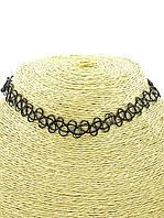 Украшение на шею чокер плетение