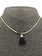 Женское украшение на шею Чокер с подвеской Кисточка