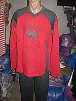 Пижама мужская FAYFI хлопок с начесом