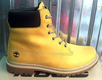 Мужские ботинки Timberland нубук/кожа T0031