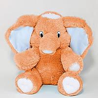 Мягкая игрушка Слон  55 см медовый №1, С6-12 (слон игрушка)