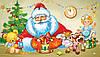 Картинка вафельная А4 Новогодняя 5
