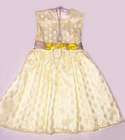 Платье для девочки оригинального кроя из жакарда  6210