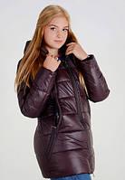 Зимняя женская куртка парка батал Оксана, фото 1
