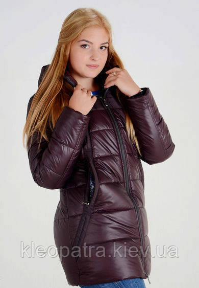 Зимняя женская куртка парка батал Оксана