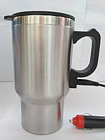 Термокружка с подогревом от прикуривателя