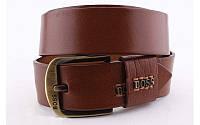 Ремень мужской кожаный Boss 45 мм 930285