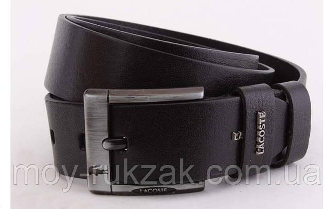 Ремень мужской кожаный Lacoste ширина 45 мм, реплика 930371, фото 2