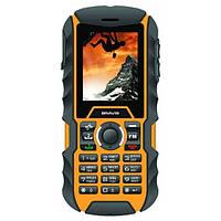 Телефон Bravis SOLID duos (IP67) Black-Orange, фото 1