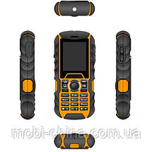 Телефон Bravis SOLID duos (IP67) Black-Orange, фото 3