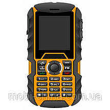 Телефон Bravis SOLID duos (IP67) Black-Orange, фото 2