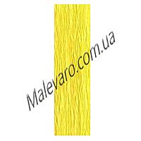 Бумага креповая, рулонная, 200СМ*50СМ, цвет лимонный, №3