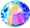 Термо стразы Preciosa (Чехия) Crystal АВ ss16 (3,8-4,0 мм)
