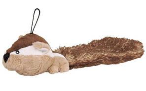 Бурундук плюшевий з хвостом 30см