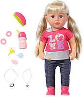 Кукла Baby Born - Старшая сестренка  (43см, с аксесс)