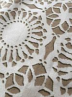Ткань декоративная кружево , фото 1