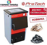 Котел ProTech (Протечь, Протех, Протек) Дровяной с плитой ТТП - 12с D Luxe