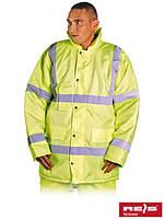 Куртка зимняя с отражающими полосами K-VIS Y