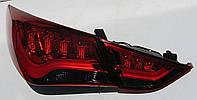 Hyundai Sonata YF оптика задняя альтернативная светодиодная красная LED tube