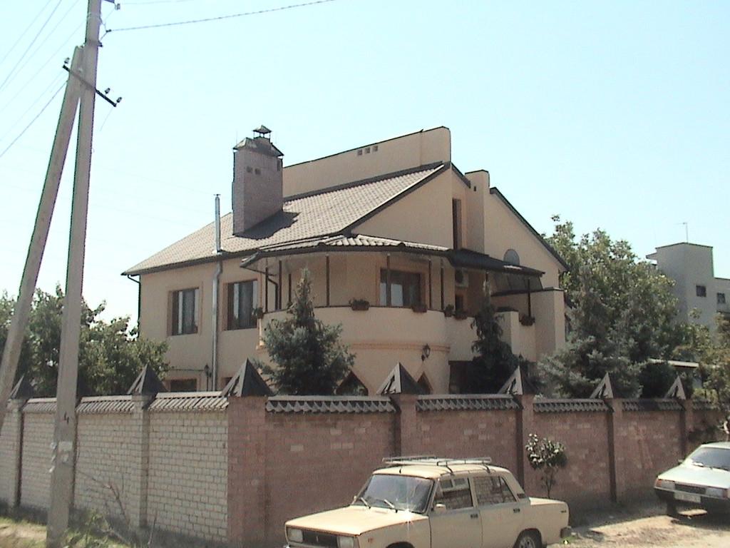 """Утепление пенопластом частного дома с отделкой фасада декоративной штукатуркой ( """"короед"""" ) 4"""