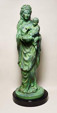 Скульптура (бронза, олово, камень)