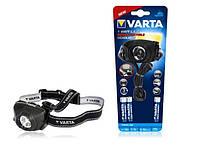 Фонарь VARTA Indestructible Head Light LED 1W 3AAA, 17731101421