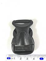 Карабин фастекс ( фаст ) черный  25мм