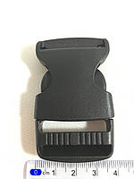 Карабин фастекс ( фаст ) черный  30 мм