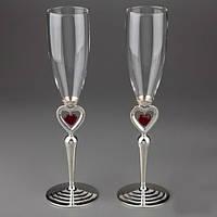 Фото бокалы для свадьбы