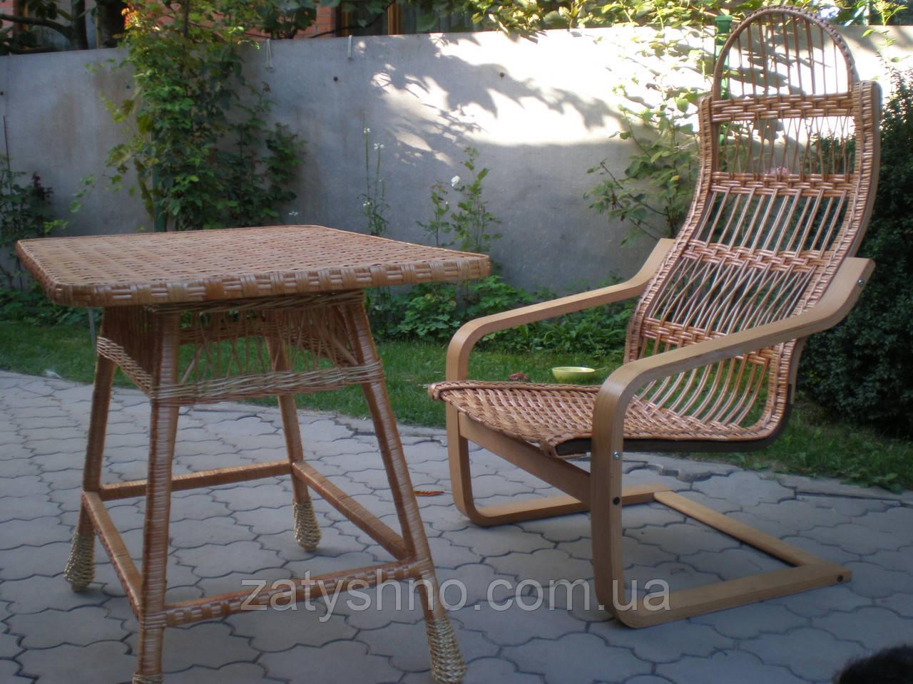 Кресла качалки плетеные из лозы