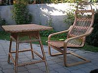 Кресла качалки плетеные из лозы, фото 1