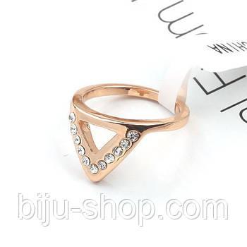 """Кольцо на ногти """"Треугольник"""" Midi ring"""