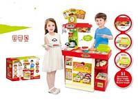 Детский магазин-касса с продуктами