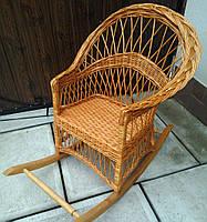 Кресло качалка плетеное, фото 1